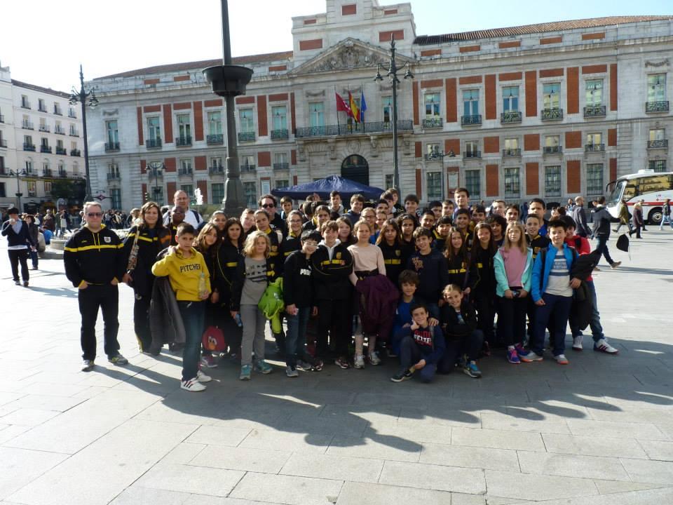 Viaje cantera Madrid2015