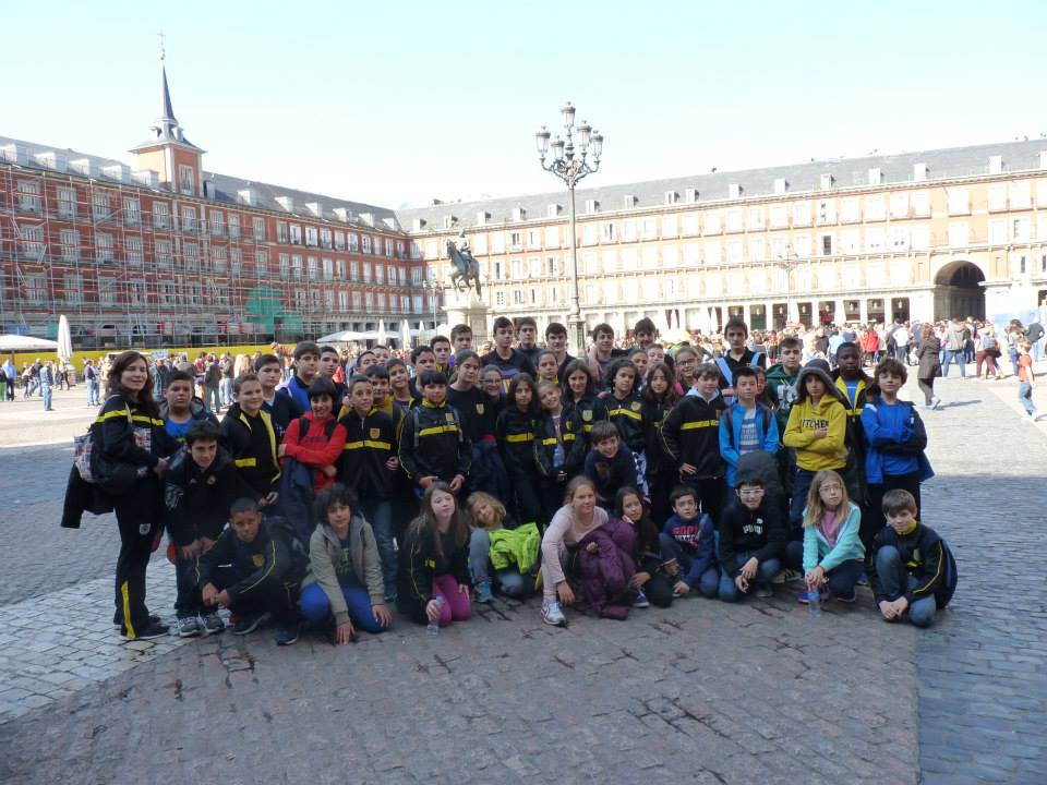 Viaje cantera Madrid 2015