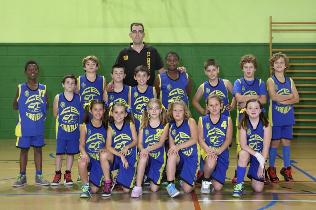 Benjamín Temporada 2014/2015