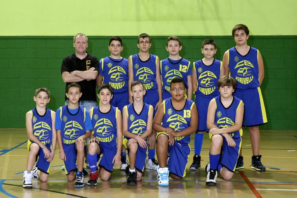 Infantil masculino Amarillo Temporada 2014/2015