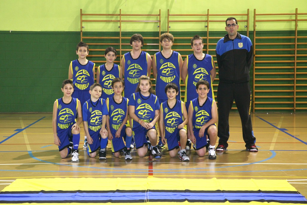Alevín mixto Azul Temporada 2013/2014
